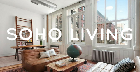 Soho, New York Interior Design Tips Using Natural Light & Small Spaces