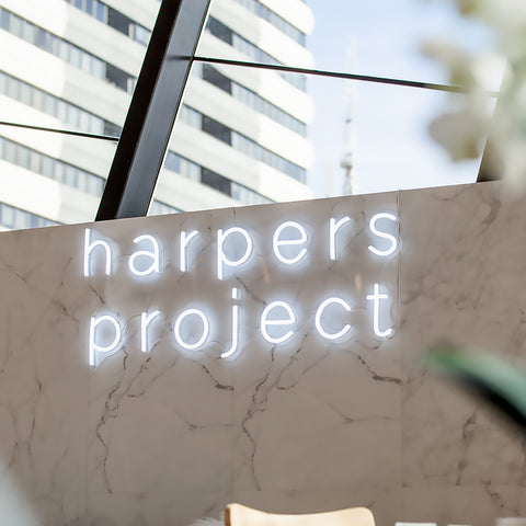 Harpers Project Myer Pop Up