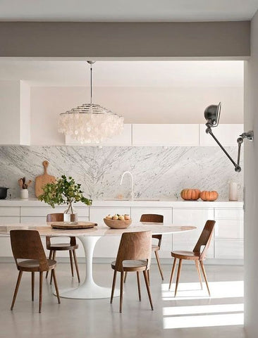 marble dining