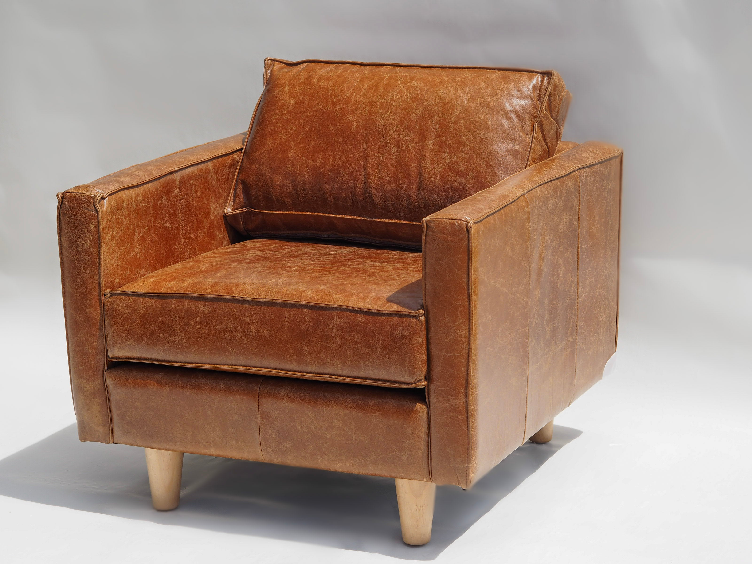 Chester Armchair Square Arm