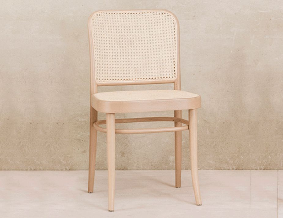 A Classic 811 Modern Cane Dining Chair  Made To Last