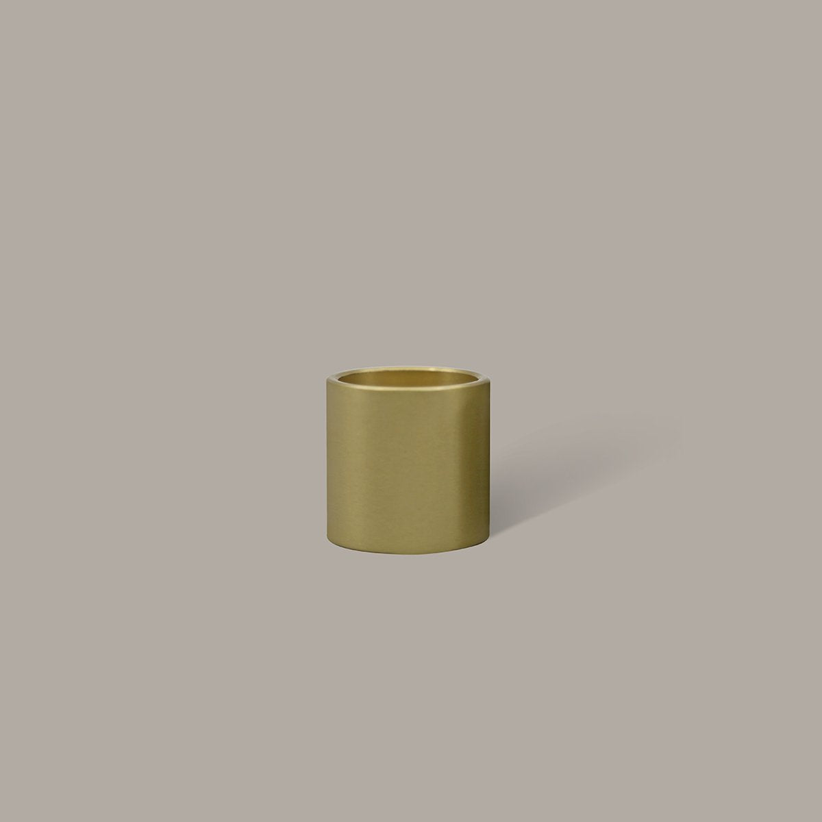 Column Brass Candle Holder