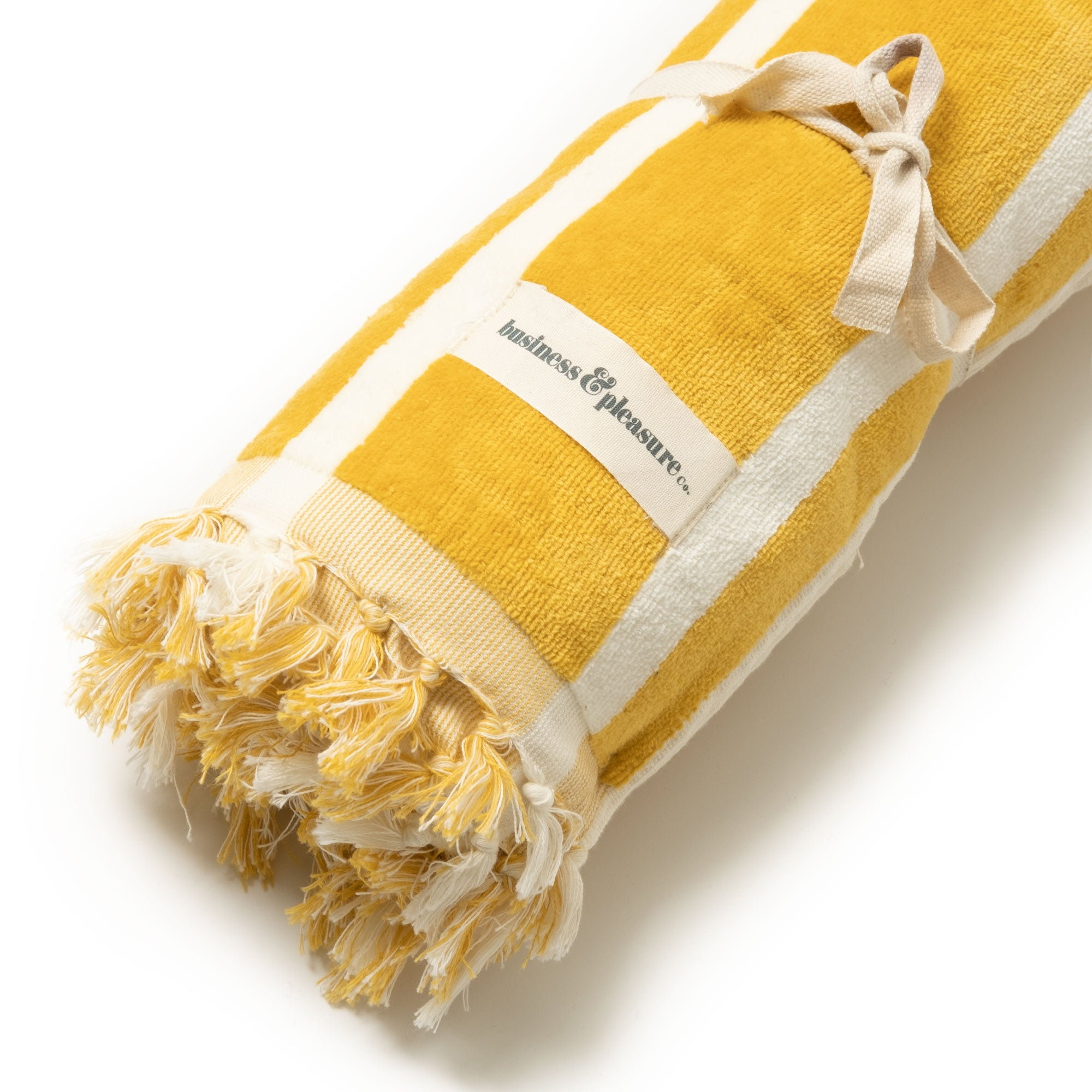 The Beach Towel - Vintage Yellow