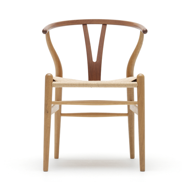 Classic Scandinavian Timber Wishbone Dining Chair