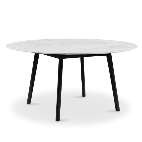 4 Or 6 Seater Round Marble Dining Table Harpers Project