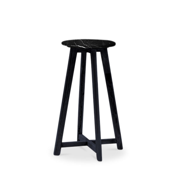 Round Marble Stool