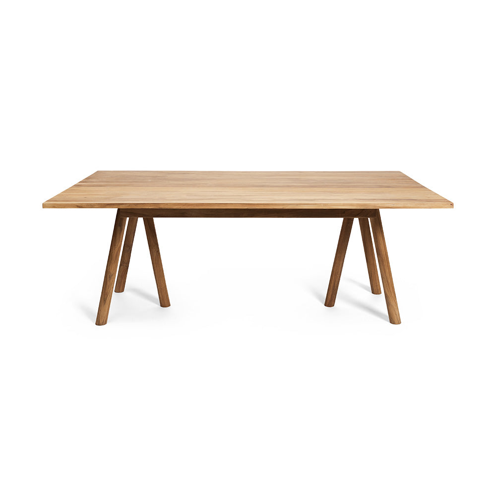 Rectangle Timber Dining Table