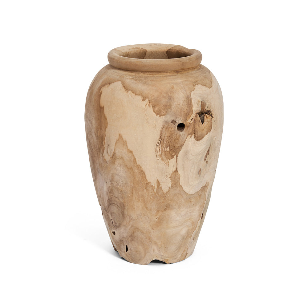 Medium Decorative Timber Vase