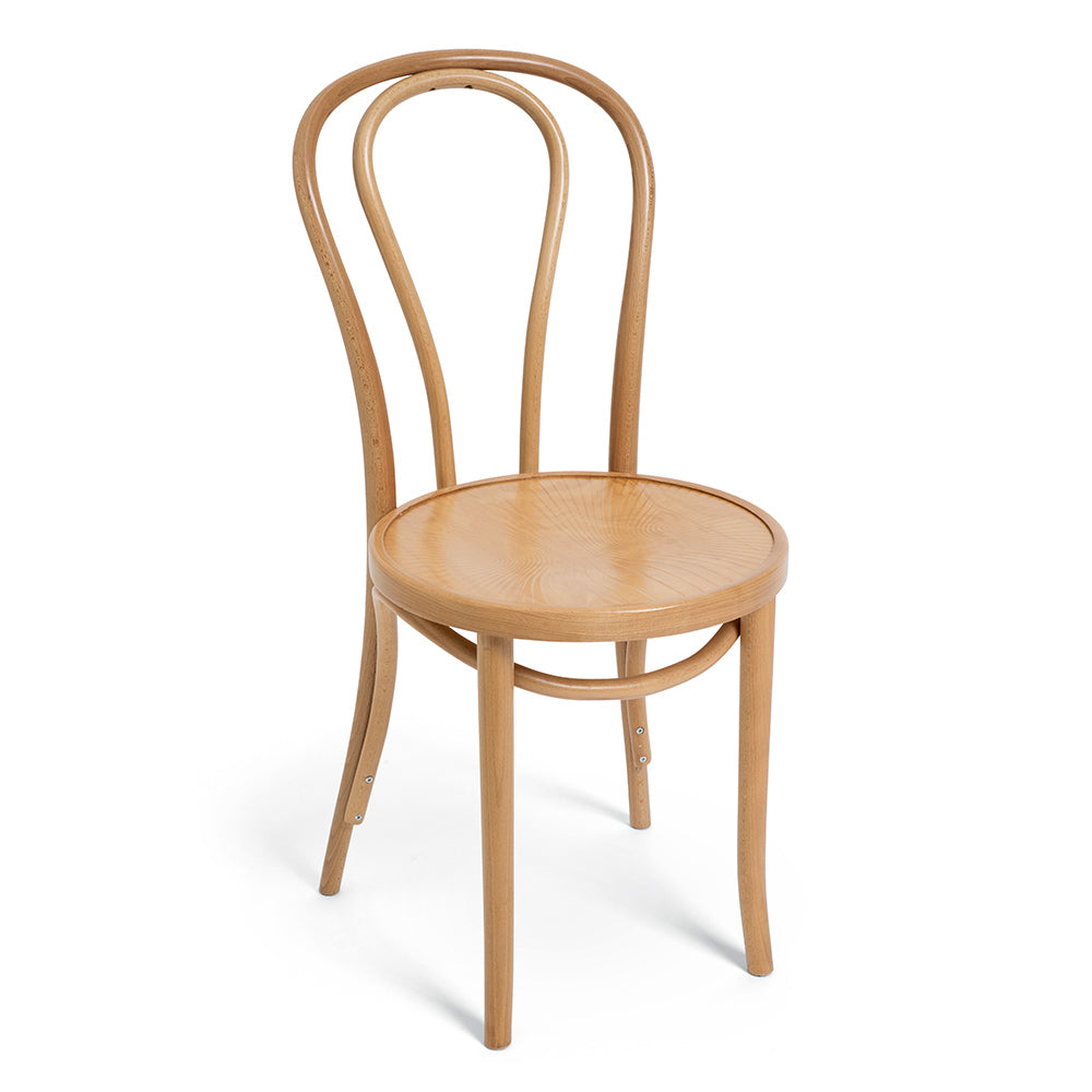 Simple & Elegant Timber Bentwood Chair