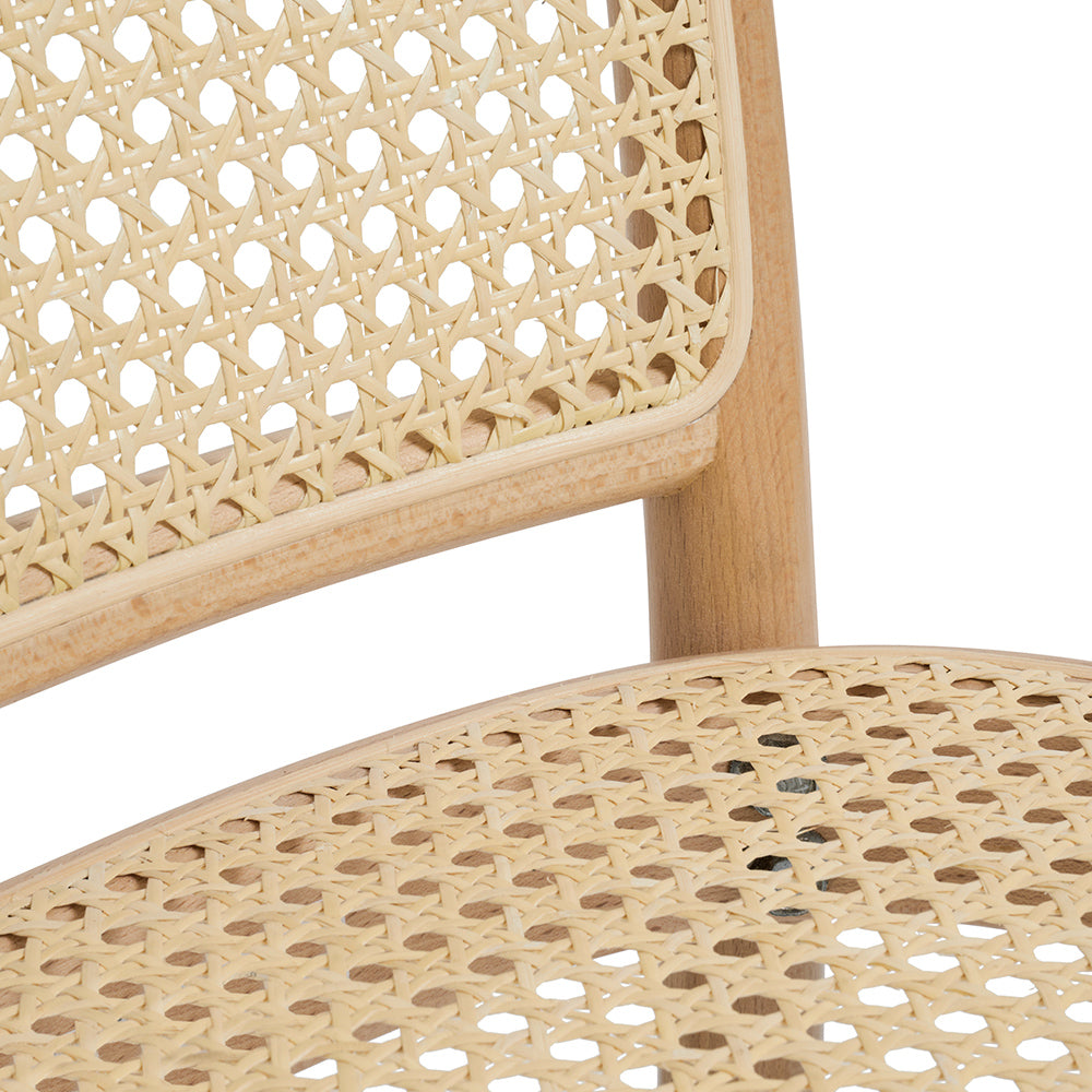 811 Bentwood Dining Chairs  Available in White, Black & Natural.