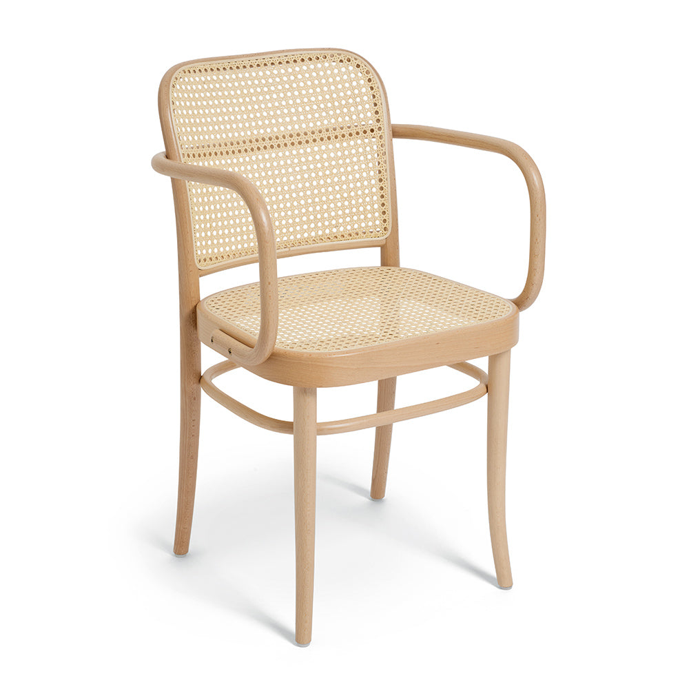 811 Bentwood Dining Armchairs Available in Natural, White or Black