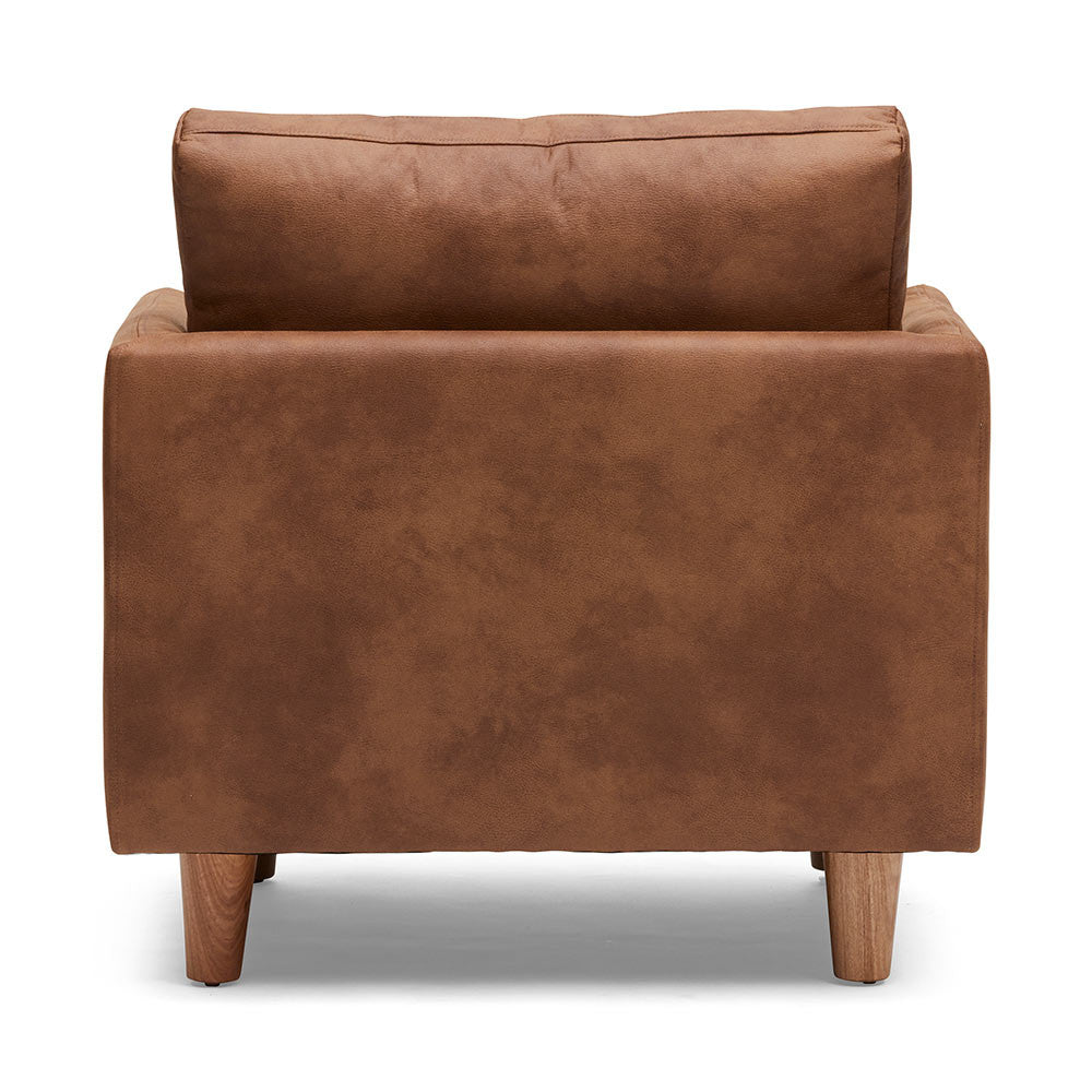 The Back of Chester Timber Armchair