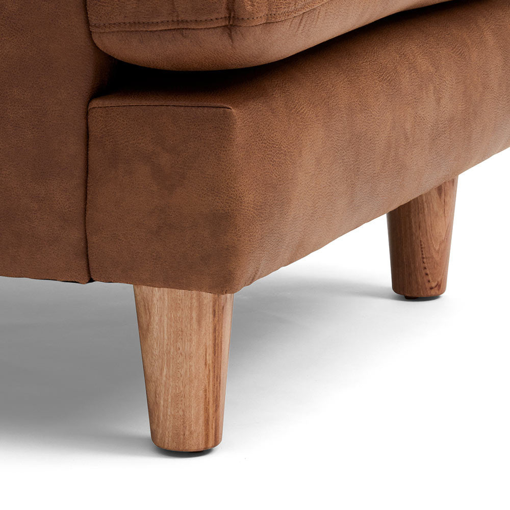 Short and Strong Timber Legs of Chester Timber Armchair