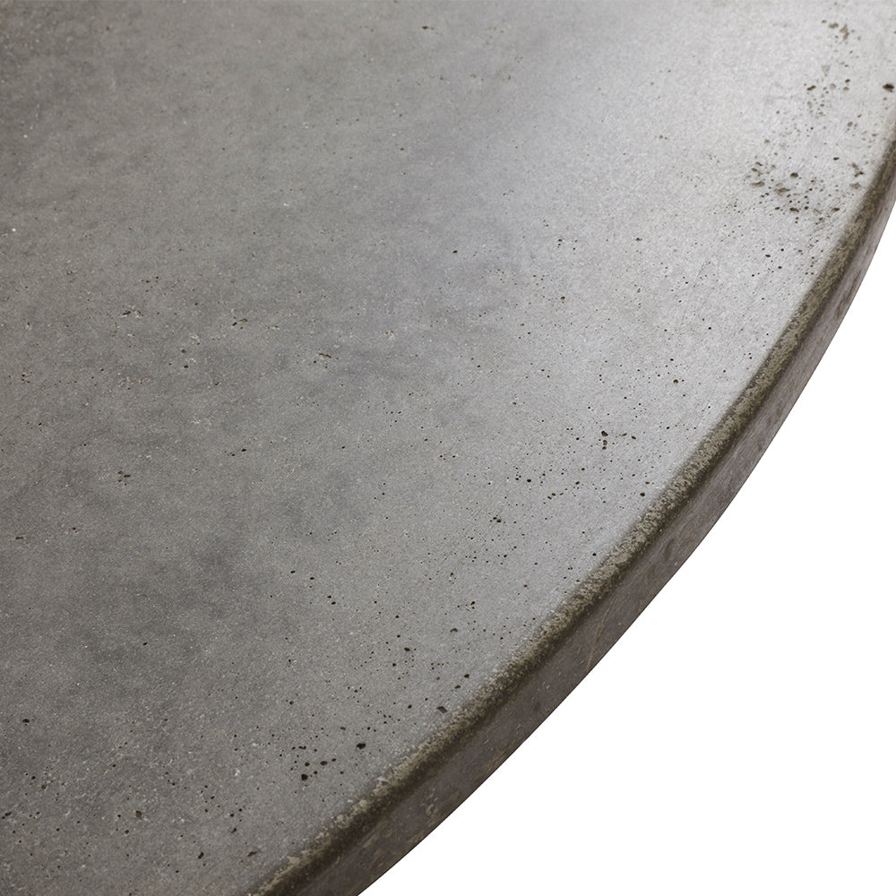 Concrete Dining Table With Extra Layer of Concrete Protection