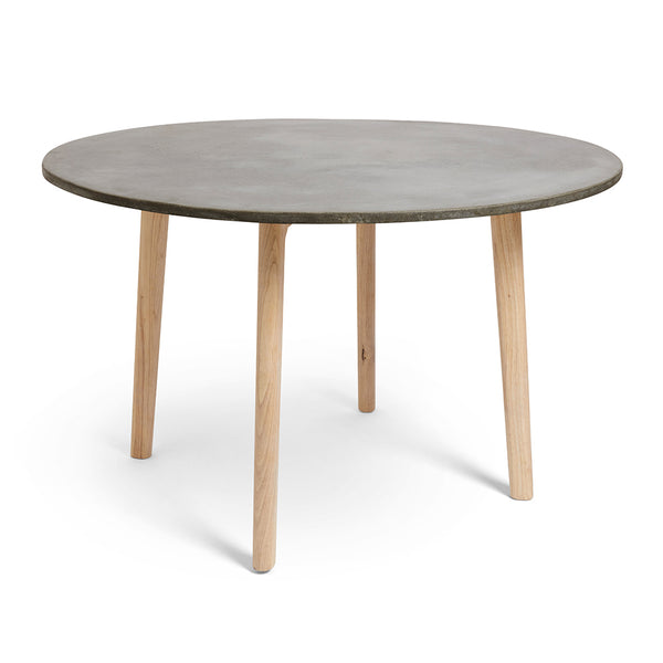 Scandi Round Concrete Dining Table
