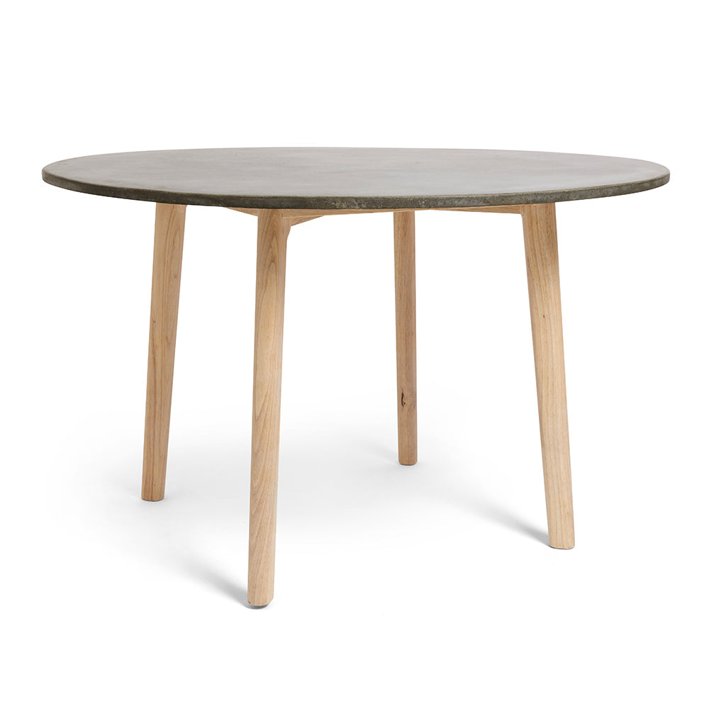 Handmade Modern Round Concrete Dining Table