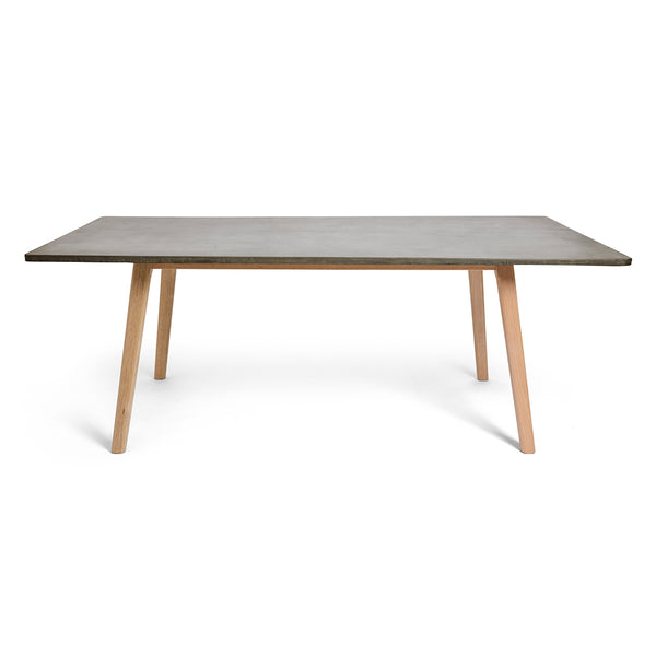 Scandi Rectangle Concrete Dining Table