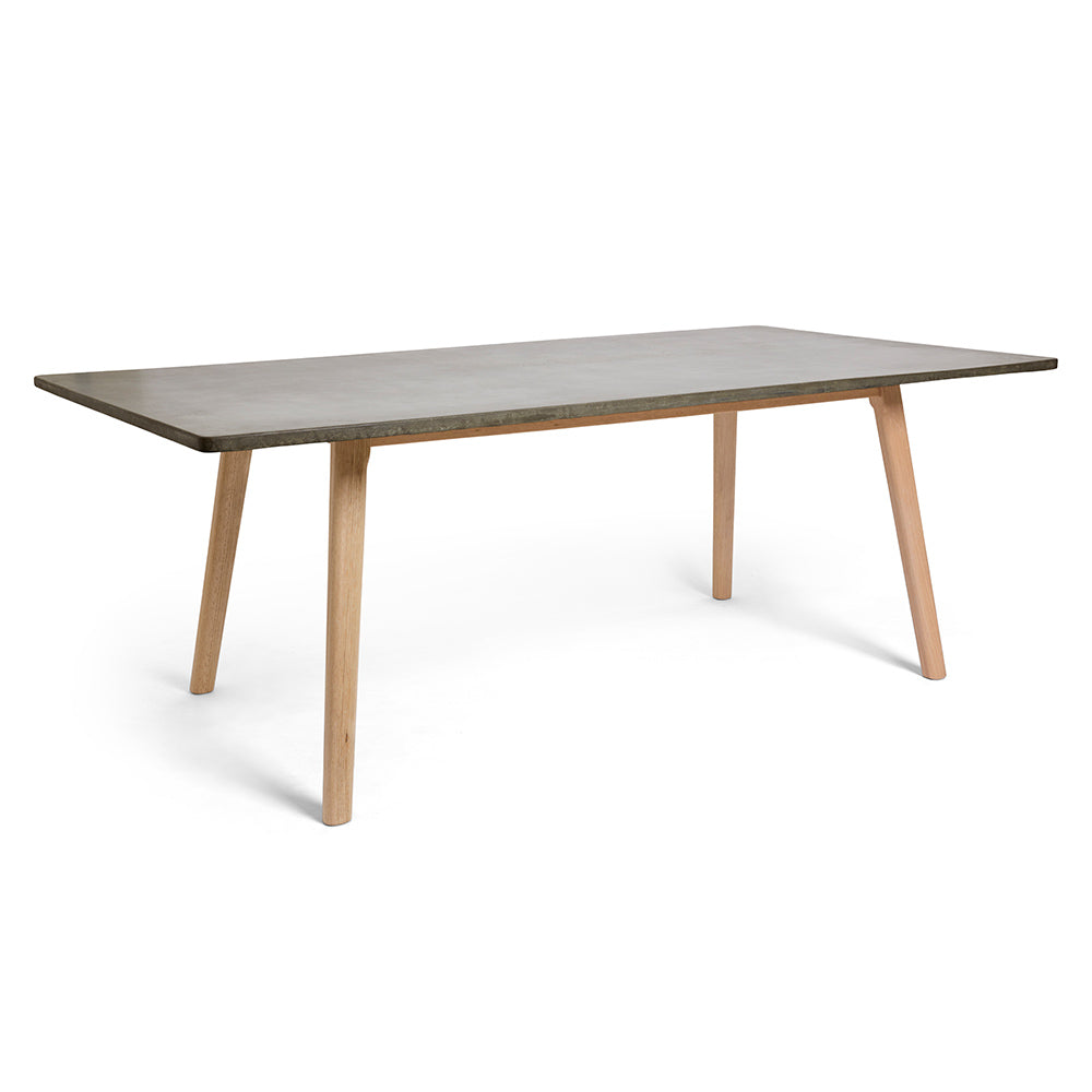High Quality Large Rectangle Concrete Dining Table