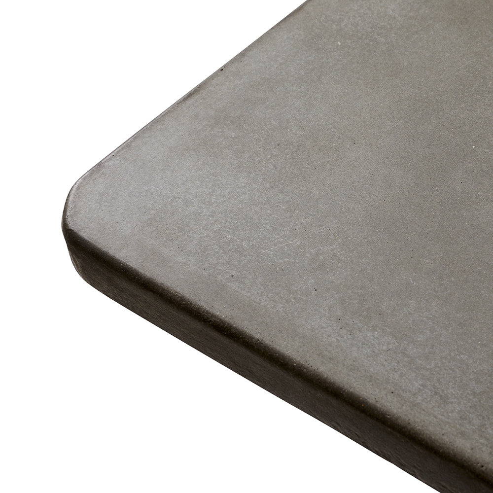 Concrete Dining Table With Food Grade Concrete Concrete Protection