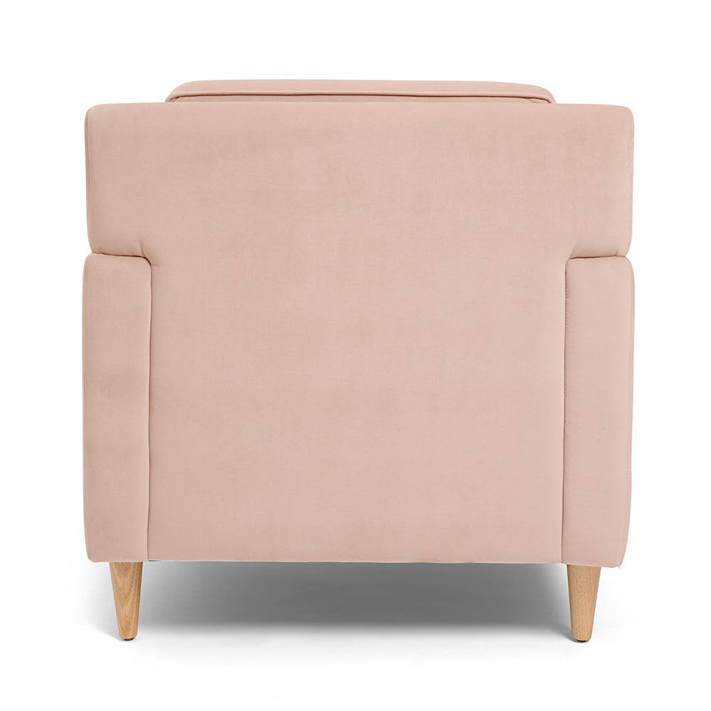 Shop Online For Our 1-Seater Coral Pink Button Armchair.