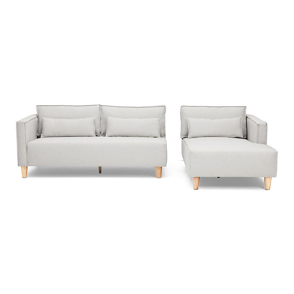 Separable L-Shaped Australian Made Melrose Chaise Sofa