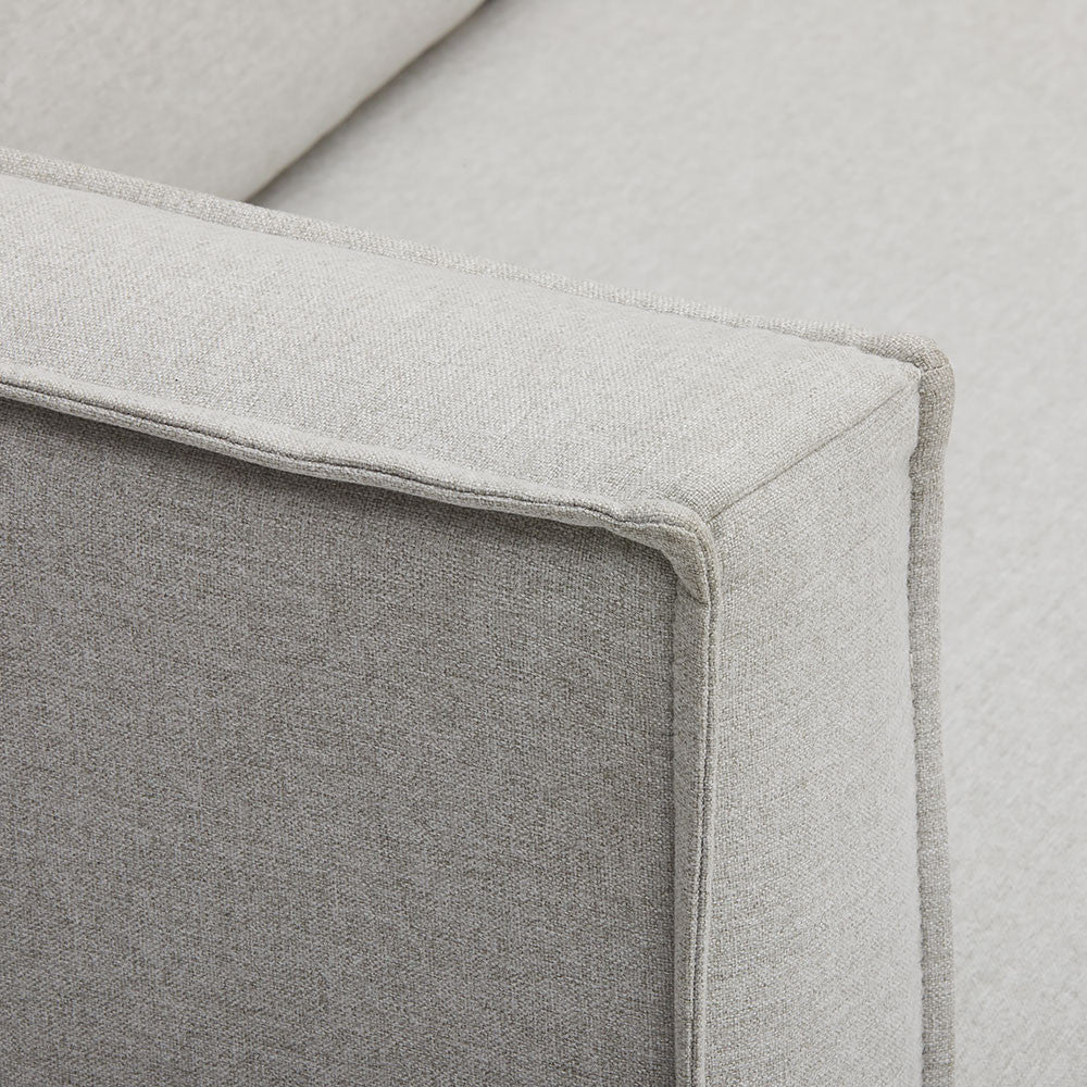 Neat Piping Detailing of Harpers Project's Melrose Chaise Sofa