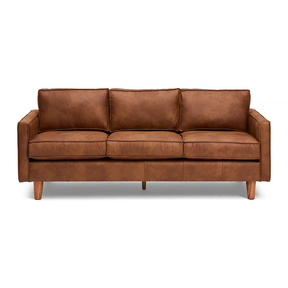3-Seater The Chester Sofa in Dark Brown