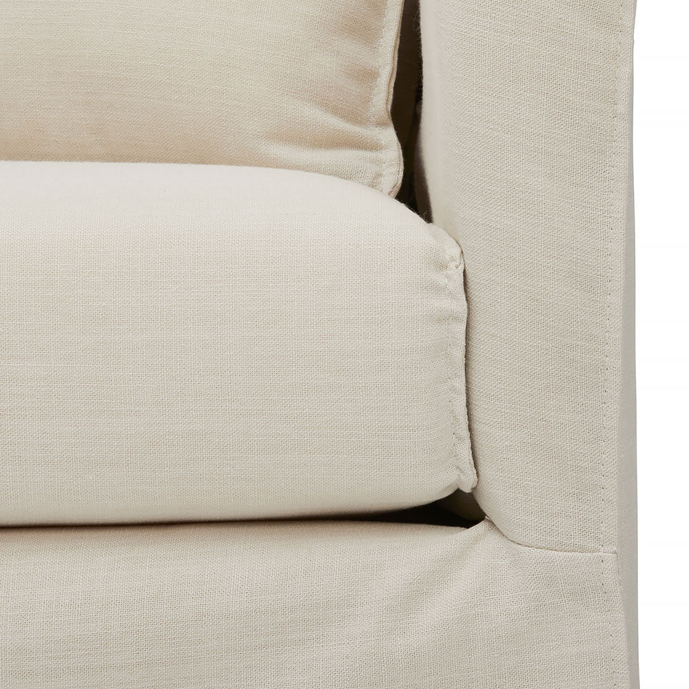 Slip Wash Sofa -Beautiful Light Weight Natural Linen Look