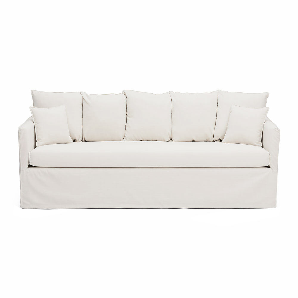 3-Seater Slip Wash Sofa With 7 Pillows