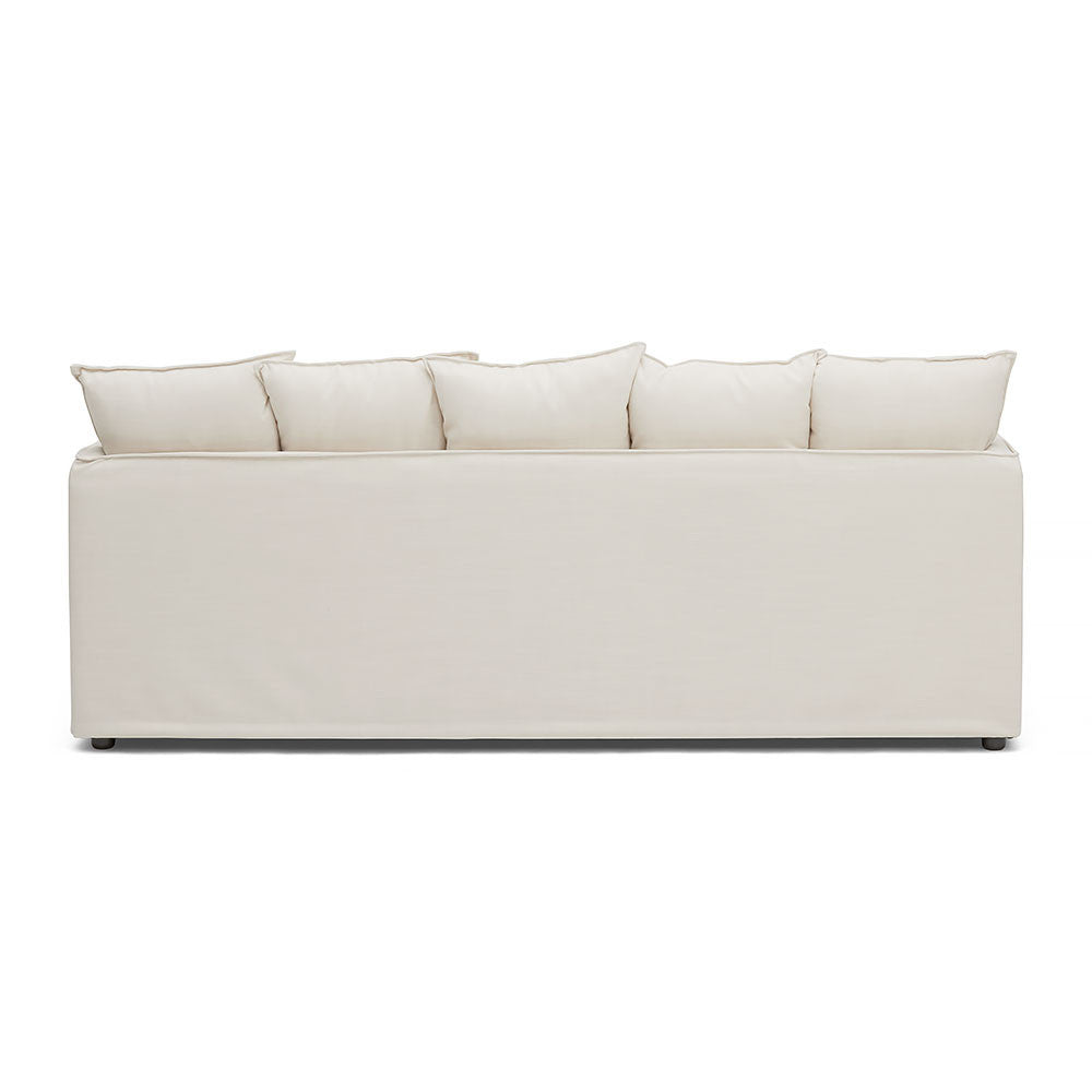 3-Seater Slip Wash Sofa With Timber Framing For Durability