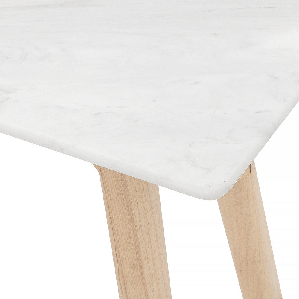 Marble Hall Table with Extra Marble Sealer To Protect From Stains