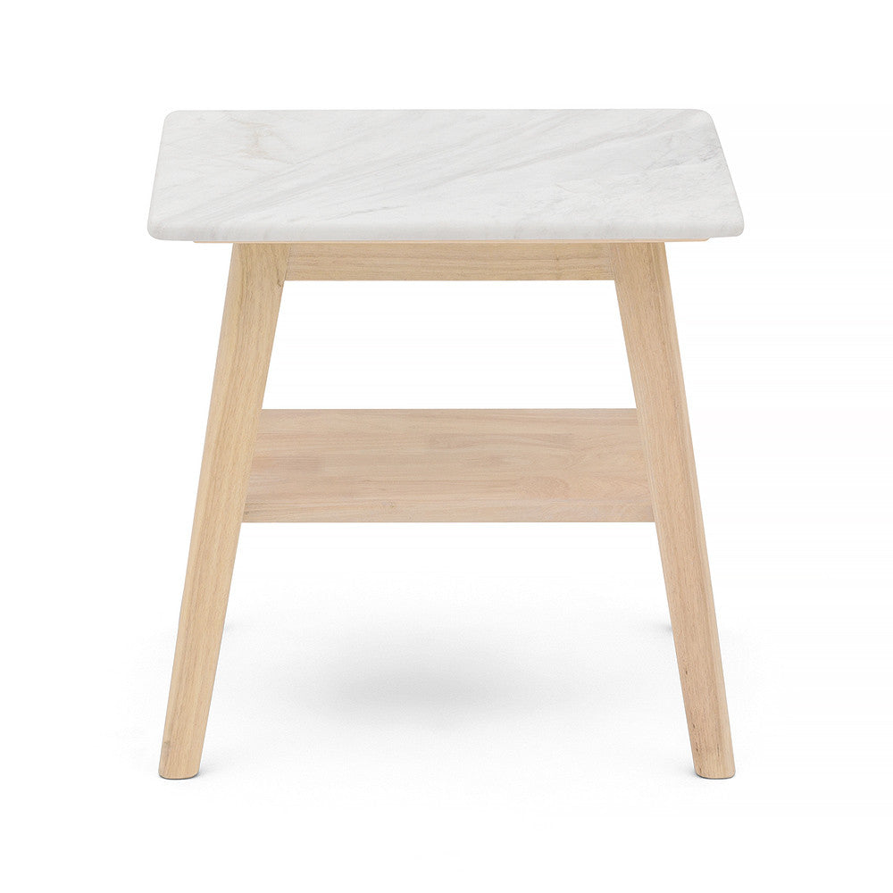 100% Pure Marble Bedside Table