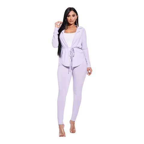 Royal Two Piece Set - Lilac