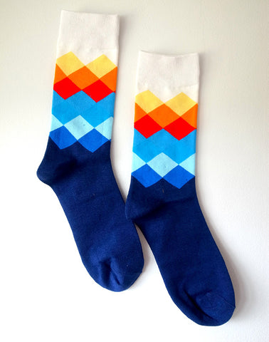 Cyclo Cross Socks Blue