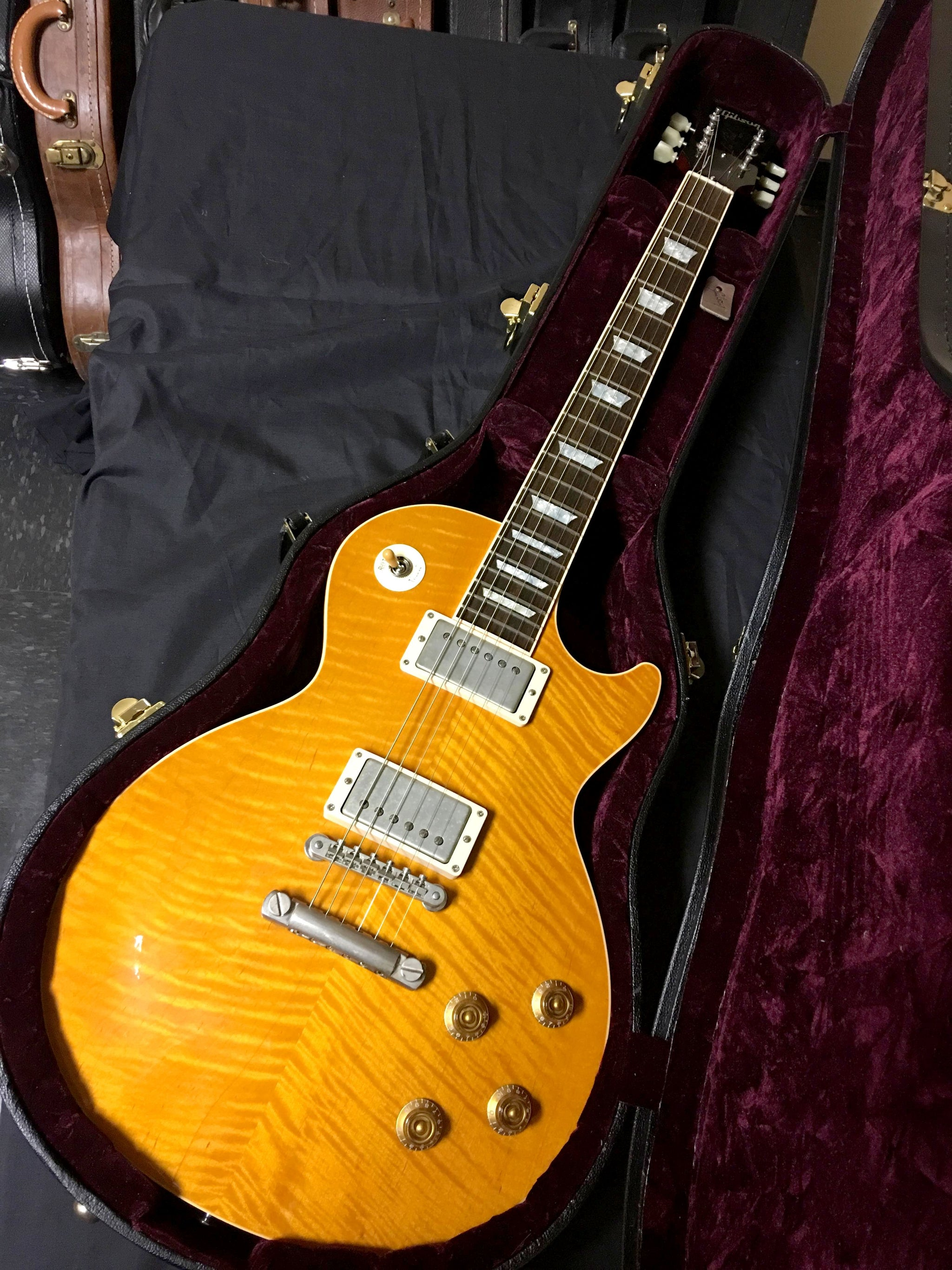 Gibson Les Paul  Flame Maple Top