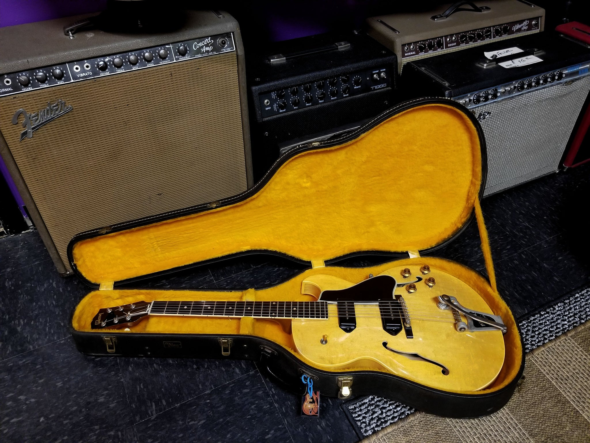 ****SOLD**** 1955 Gibson ES225 Natural
