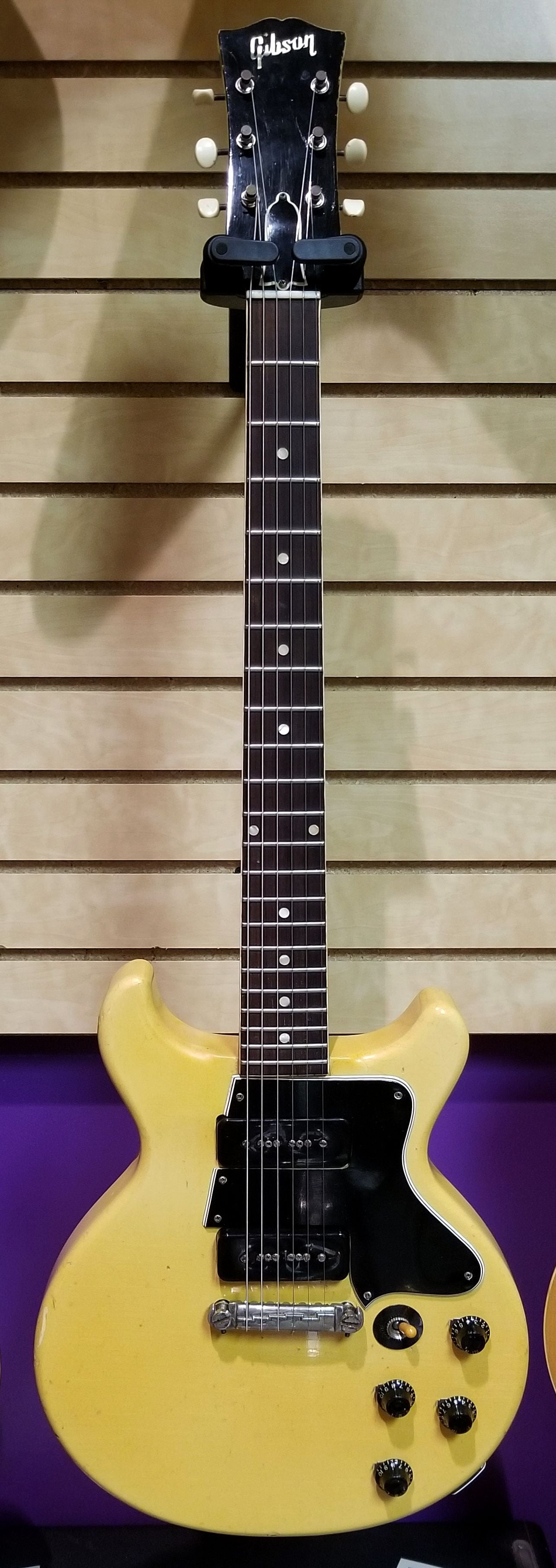 1962 Les Paul Junior Double Cut TV Yellow