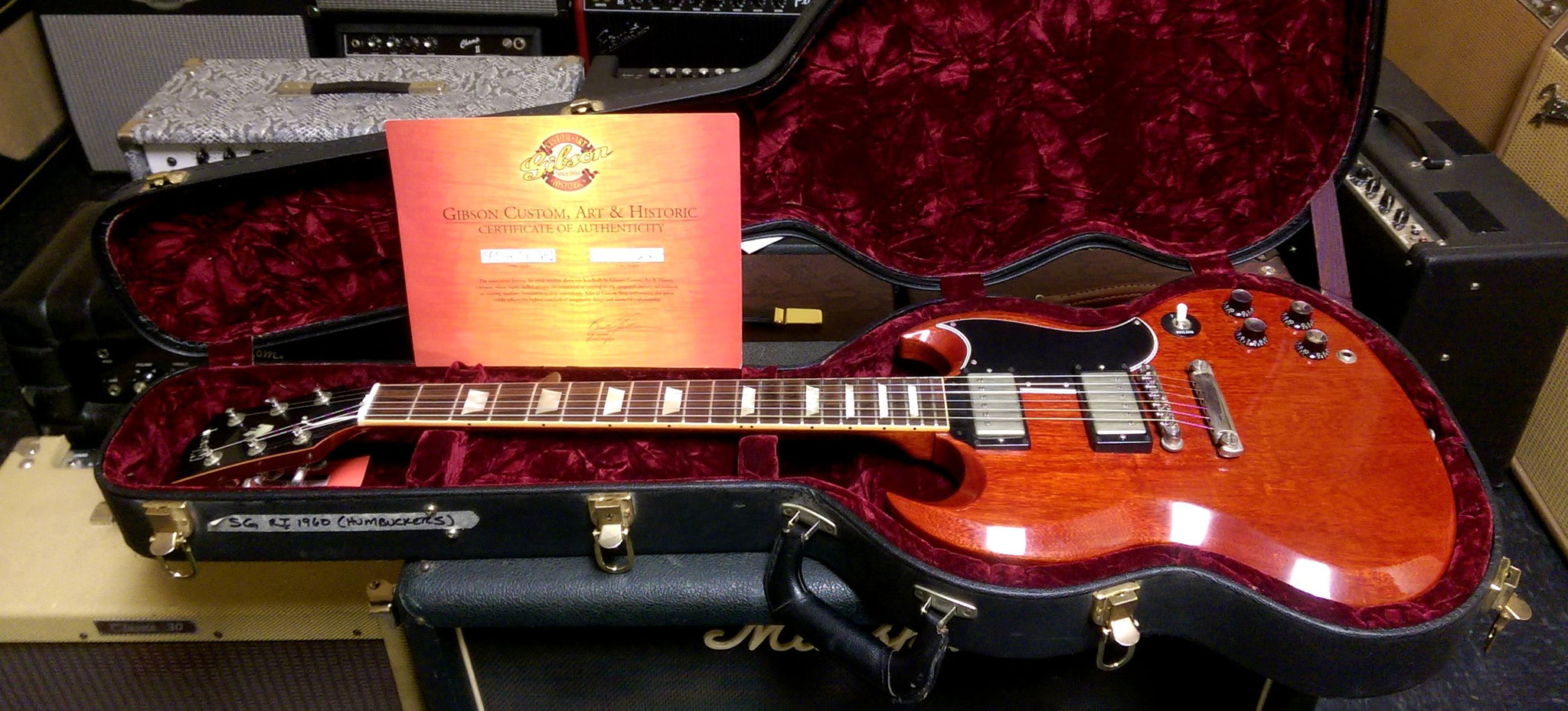 Gibson Custom Shop SG Standard ****SOLD****