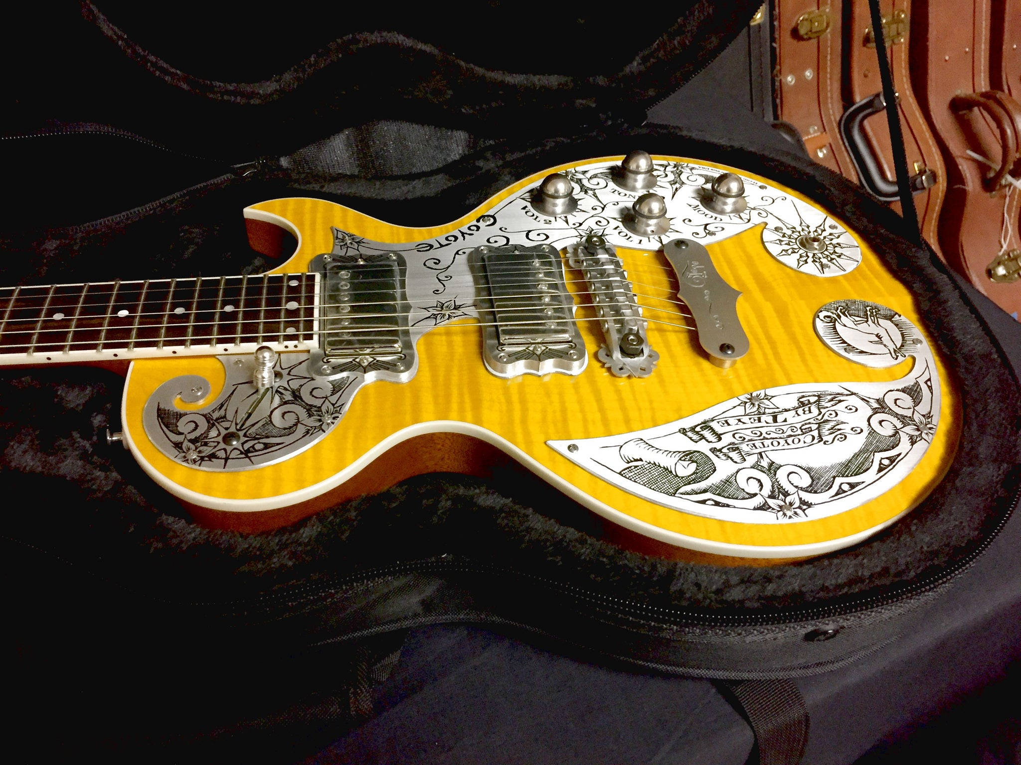 Teye Coyote Lemon Burst Finish SN 200