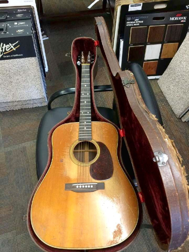 1946 Martin D28 Classic Herringbone Natural **SOLD**