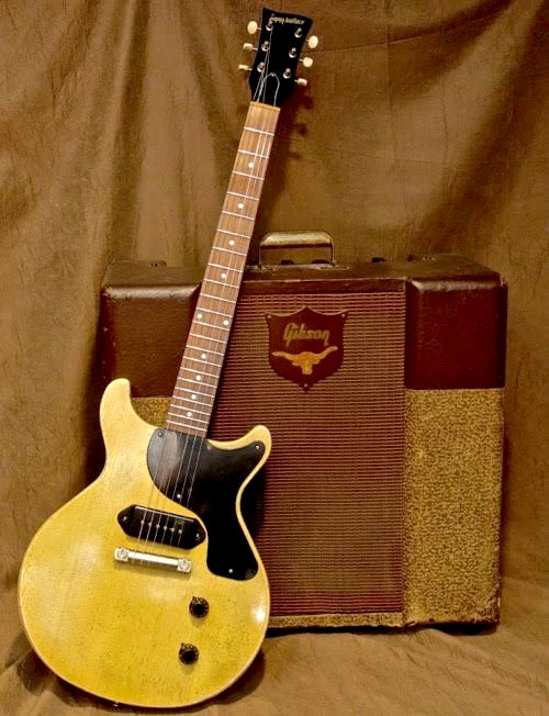 Jimmy Wallace Double Cut DC with Aged TV Yellow Finish