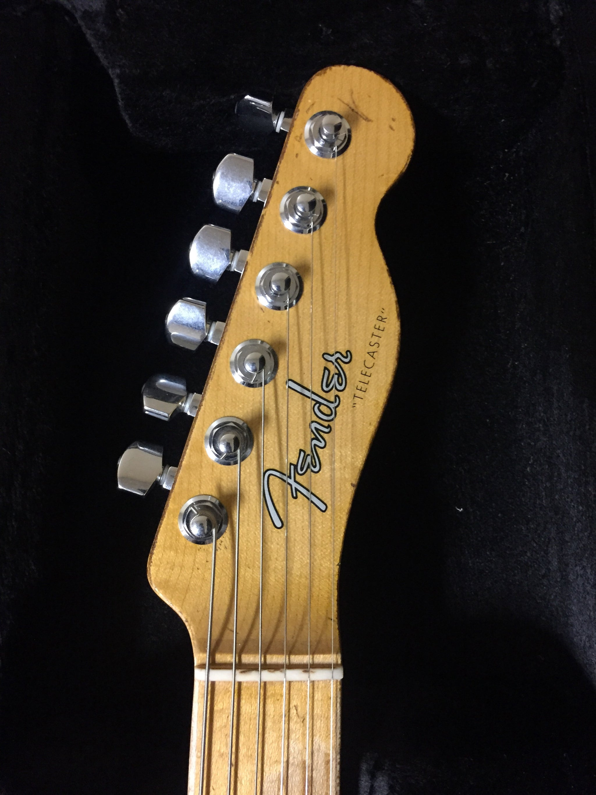 Fender Custom Shop 63 Heavy Relic Telecaster 3 Tone Burst  ****SOLD****