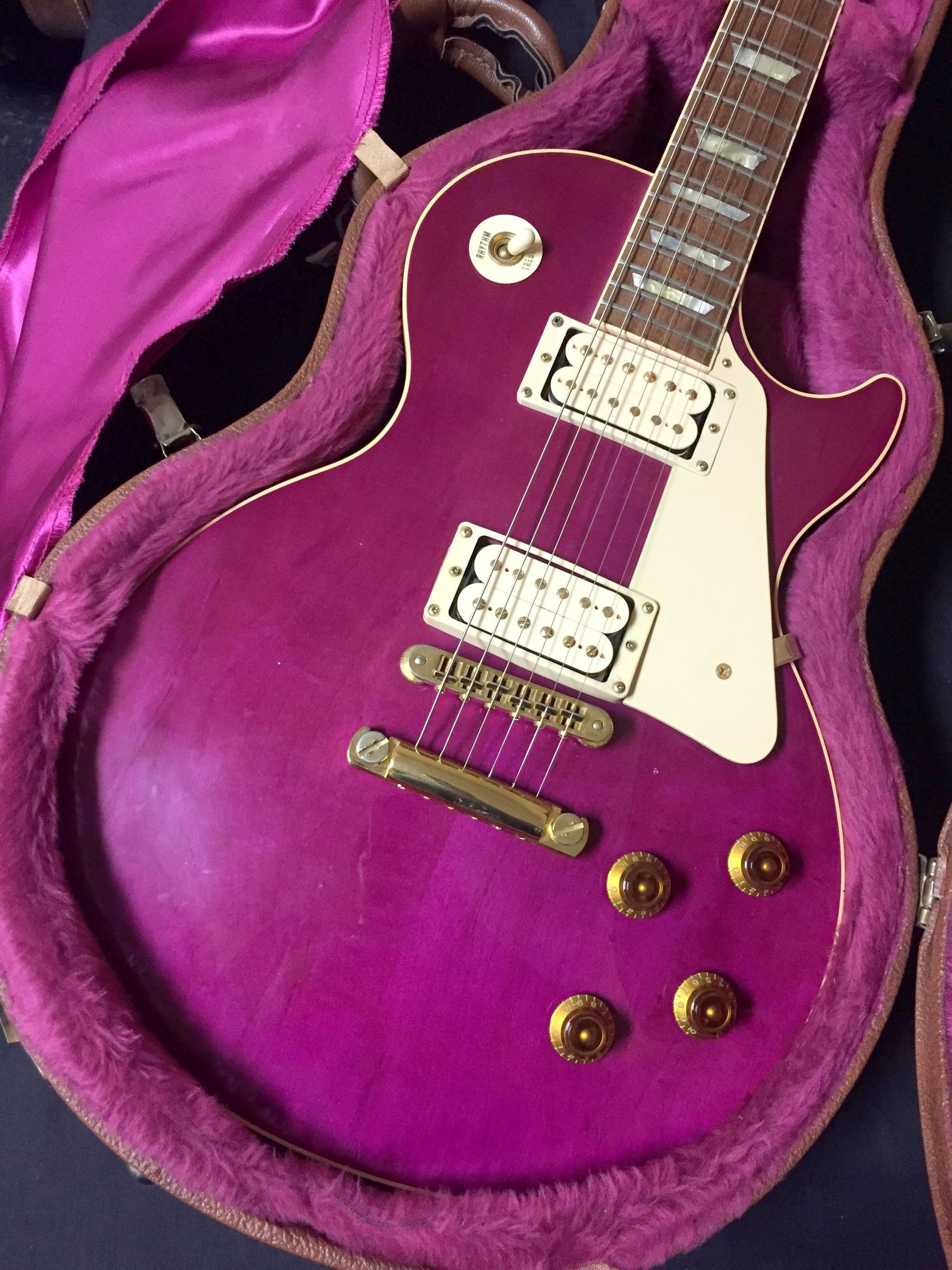 Gibson Magenta Les Paul ****SOLD****