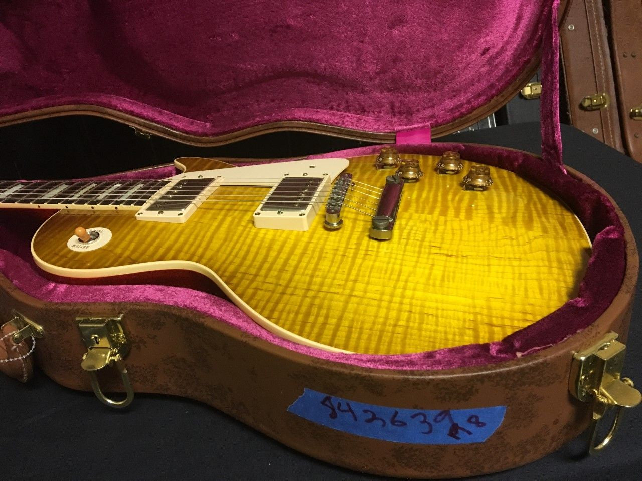 Gibson Les Paul R8 Lemon Burst 842639 ****SOLD****