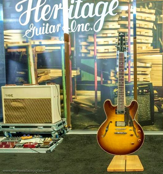 SOLD Heritage H 535 in Old Style Sunburst
