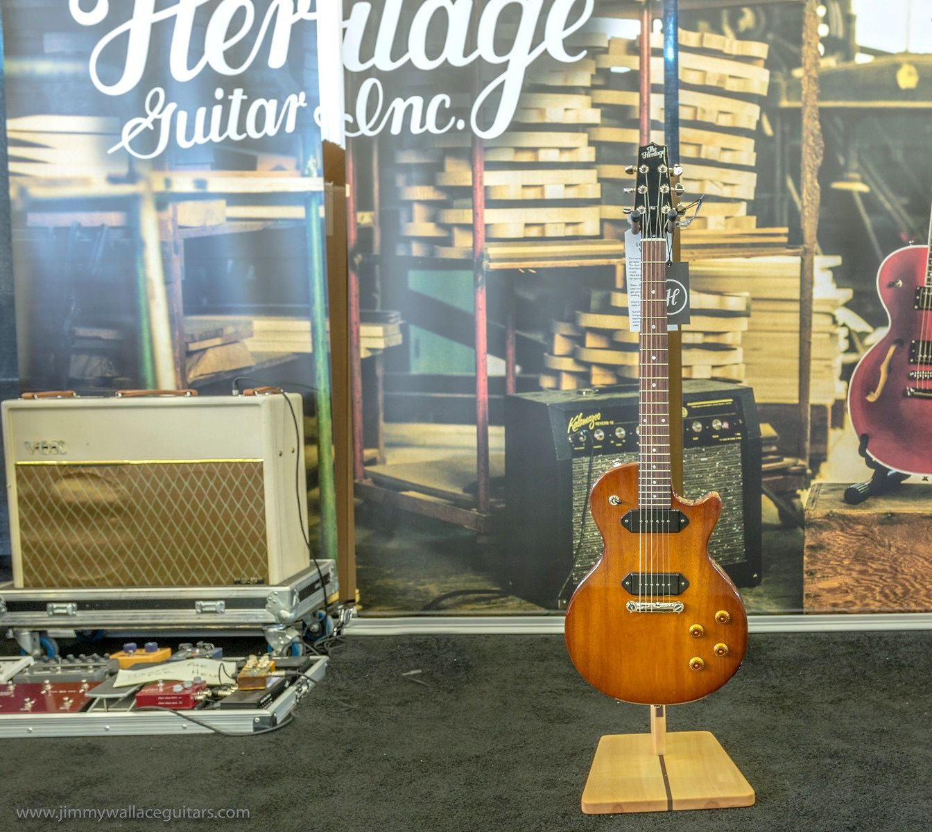 ****SOLD **** Heritage H 137 In Antique Sunburst