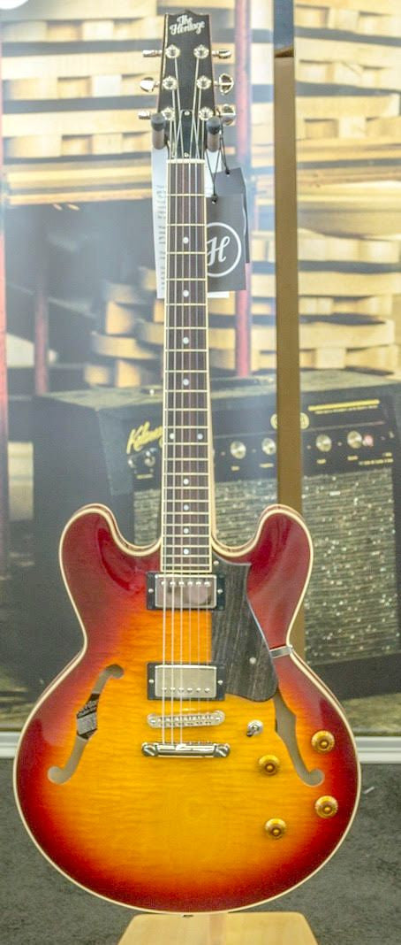 SOLD - Heritage H 535 Vintage Wine Burst