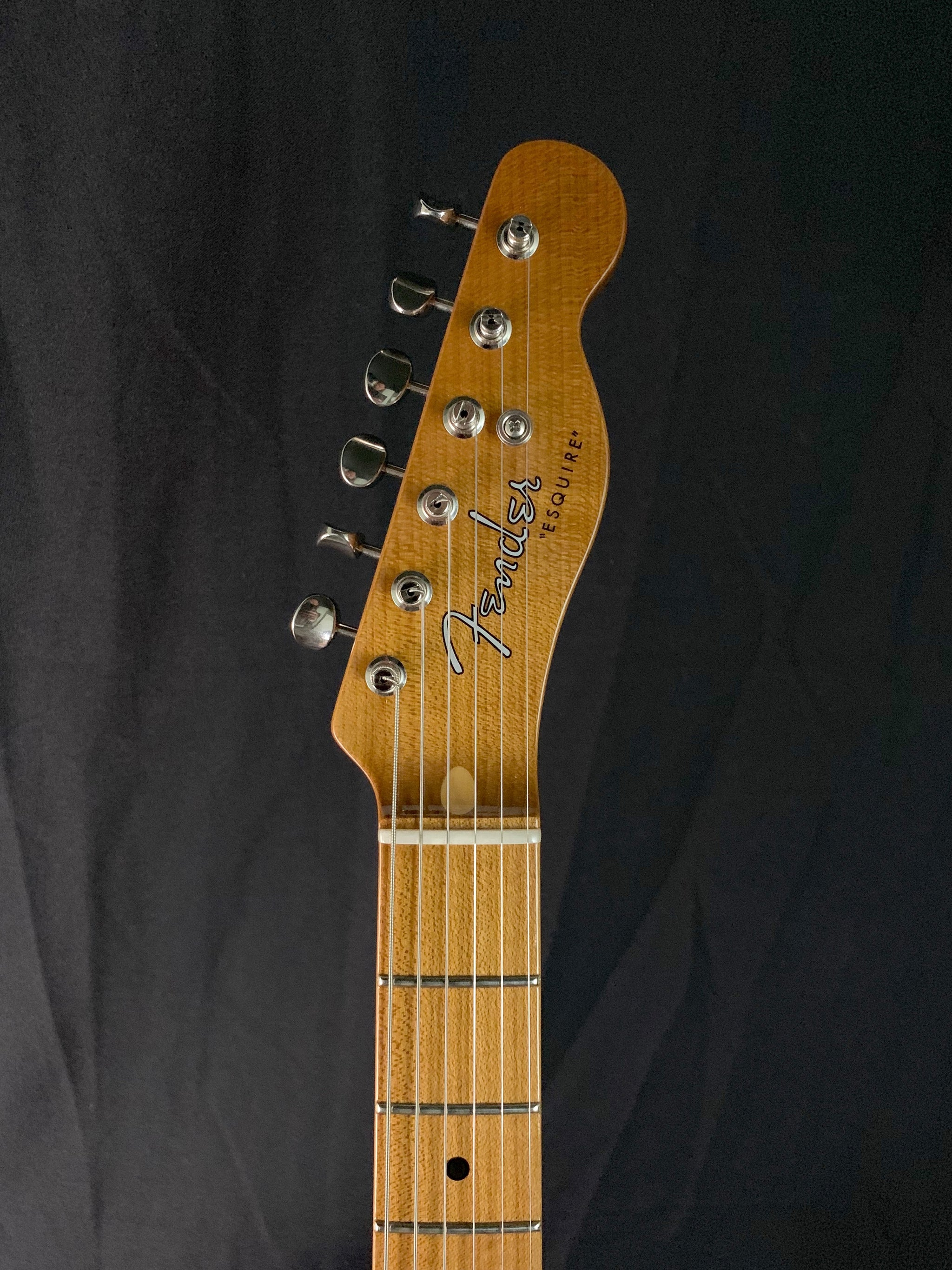 "**** SOLD **** 2019 Fender Custom Shop ""Roasted Ash Esquire"""
