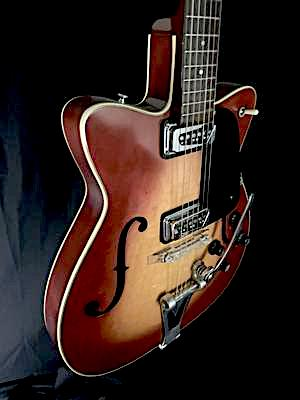 **** SOLD **** 1964 Martin F65 Semi-hollow Electric