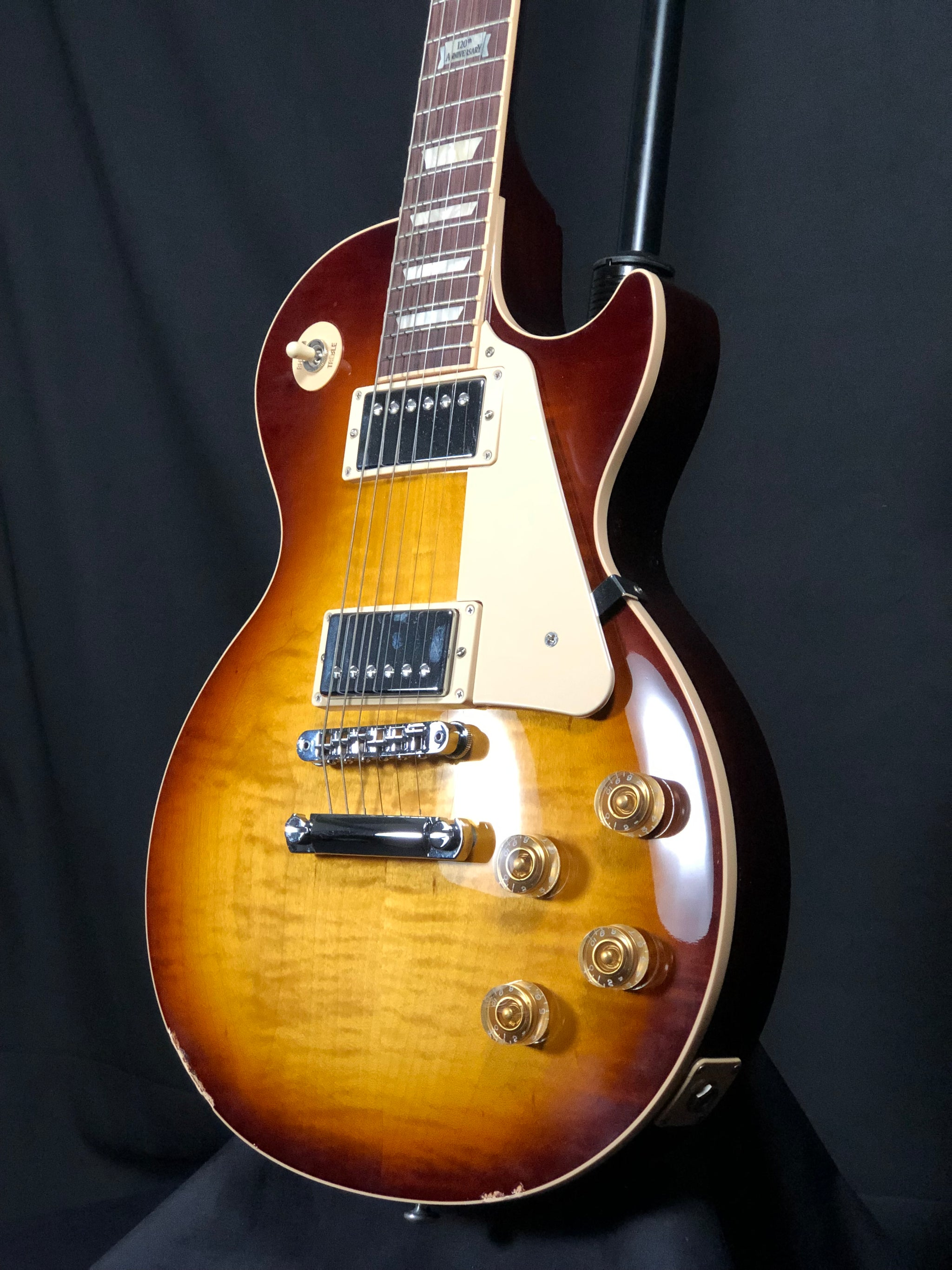 2014 Gibson Les Paul Tobacco Sunburst